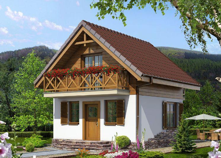 Kit structura casa lemn 72 mp