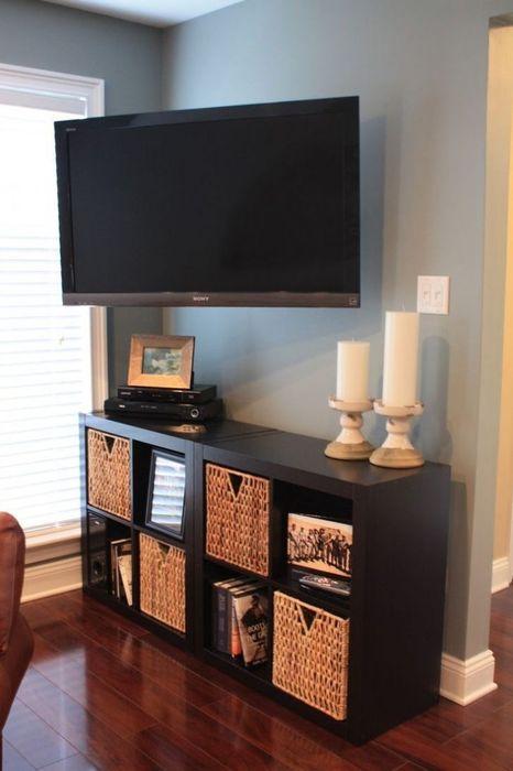 Навеска телевизора на стену. Установка кронштейна Навестить Установить