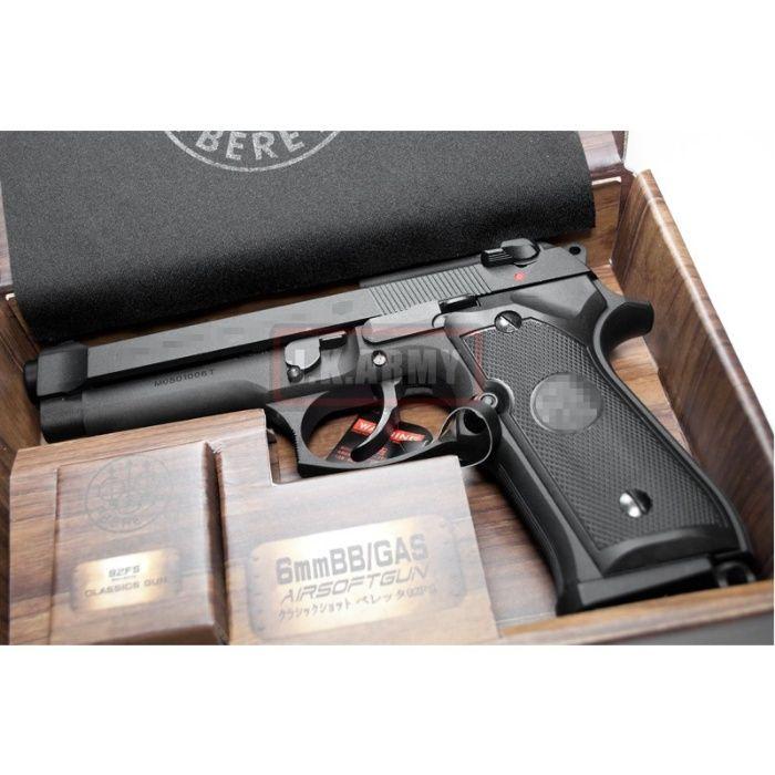 PUTERE MAXIMA-Pistol MODIFICAT mecanism Airsoft Metal Co2gaz Beretta 9