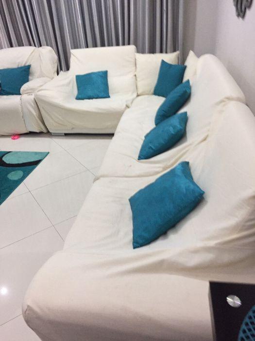 Bonito sofá da sala