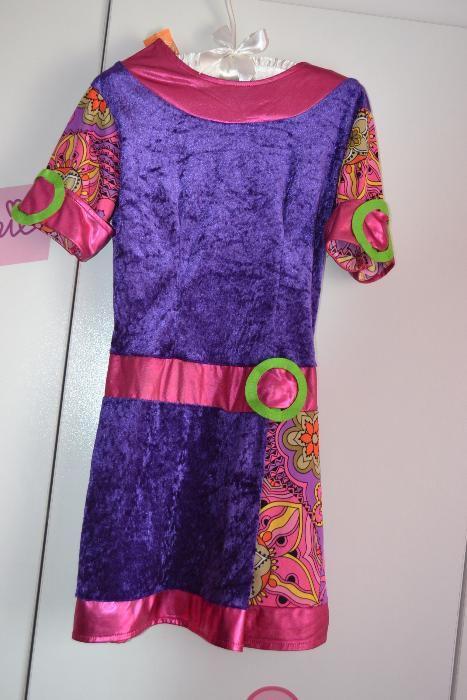 Costum de carnaval halloween serbare rochie floare dans