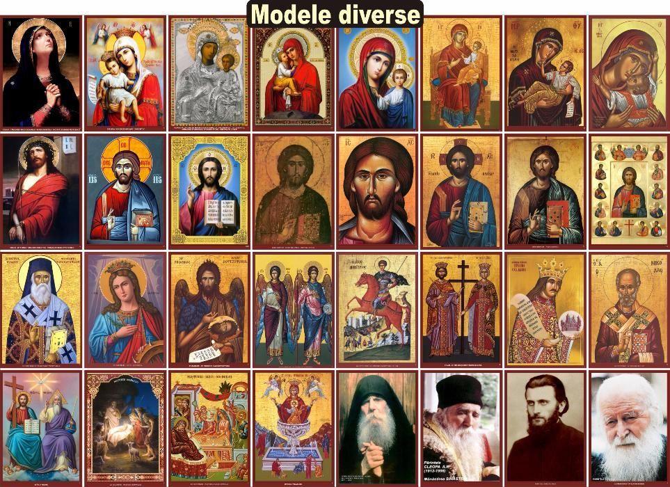 Icoane ortodoxe, cruci, vitralii - sute de modele si dimensiuni!