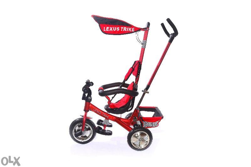 Детска триколка Lexus Trike 3в1 Алуминиева-олекотенa