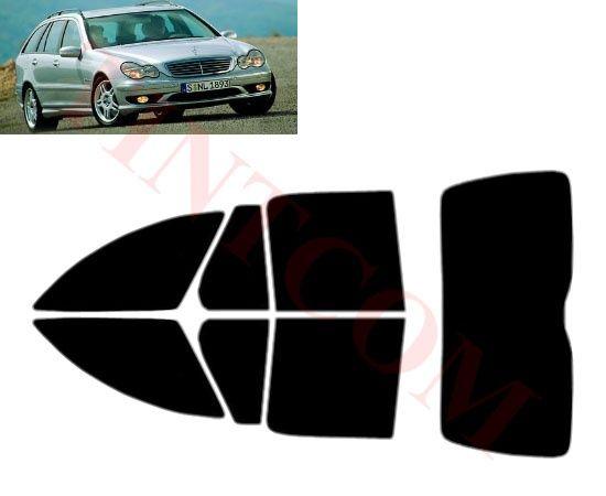 Mercedes C Class S203 (комби, 01 - 07)- Фолио за затъмняване на стъкла