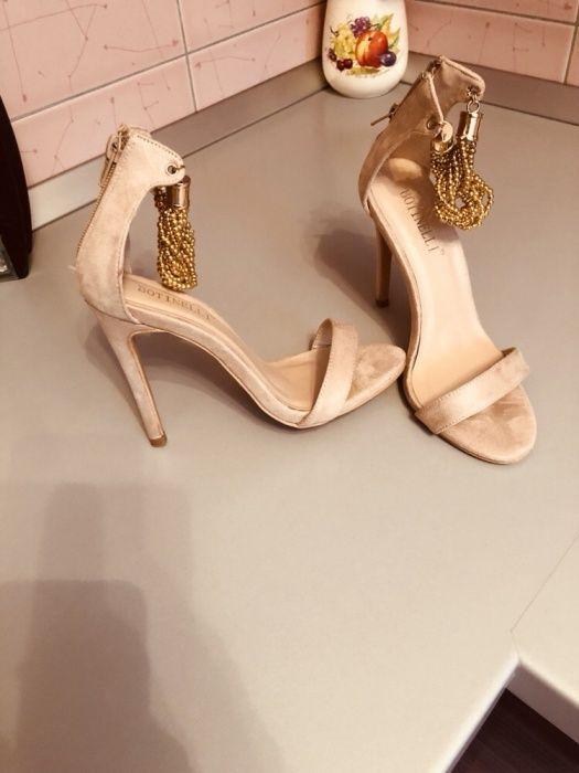Sandale crem
