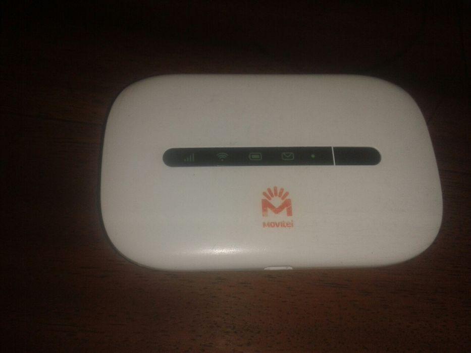 Modem wifi Huawei da Movitel suporta 10 dispositivos on. Bateria 1 dia