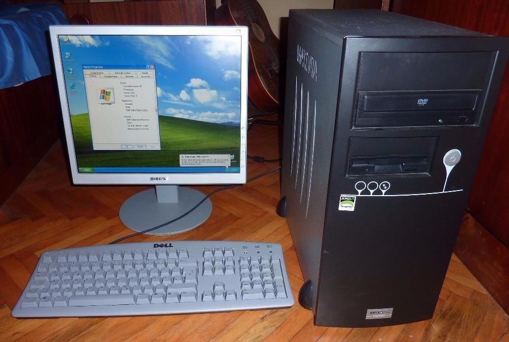 Sistem complet sempron 3000+, 1.81 mhz, 1gb ram, 80 gb hdd