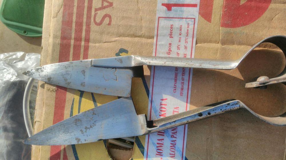 Ножици за стригане на вълна