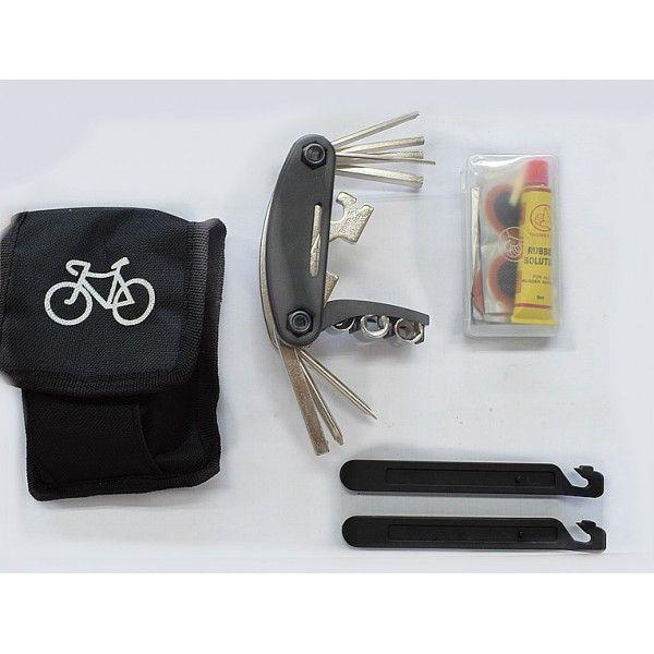 Многофункционален джобен инструмент за ремонт на колело/ велосипед