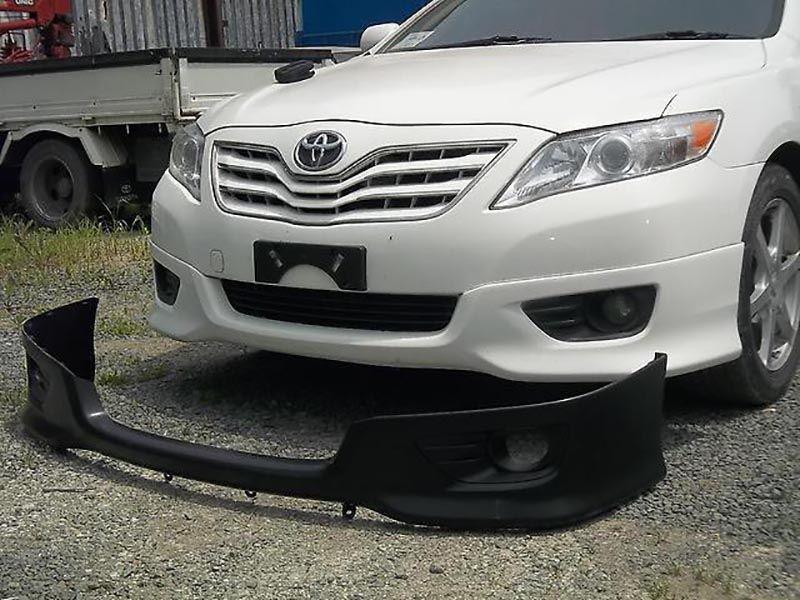 Юбка губа спойлер накладка бамперТойота Камри 40/45 Toyota Camry 40/45