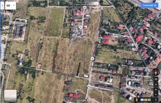 Teren Berceni Postalionului Grand Arena Sellgros Persu Dealul Cucului