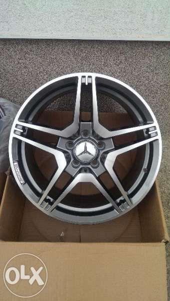 Mercedes AMG Джанти - 18 и 19 цола - Модел от Е63 / CLS63 AMG