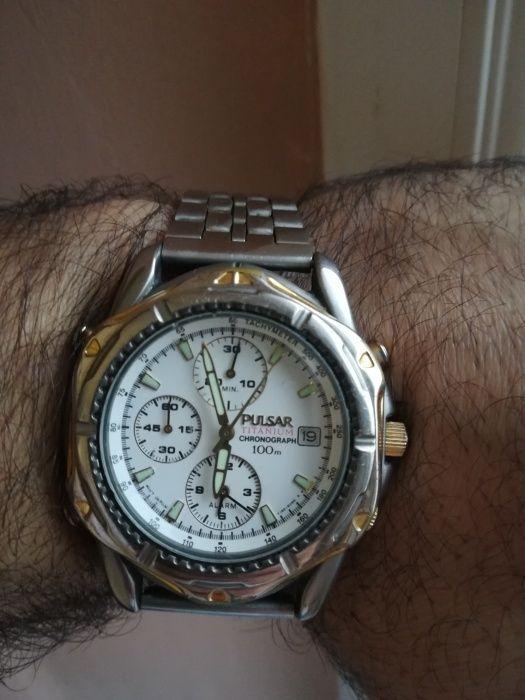 Ceas Pulsar titanium Chronograph - ieftin!