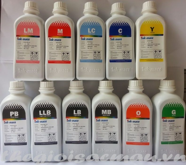 Cerneala plotter Canon PFI-102 PFI-107 PFI-302 PFI-702 pigment sau dye