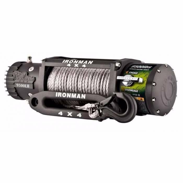 Troliu Auto IRON MAN 9500lbs (4310kg) cu plasma Dyneema 8mm
