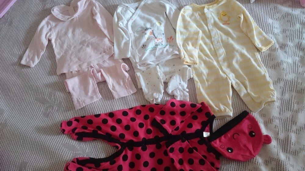 Costumase fetite 0-3 luni + paturici