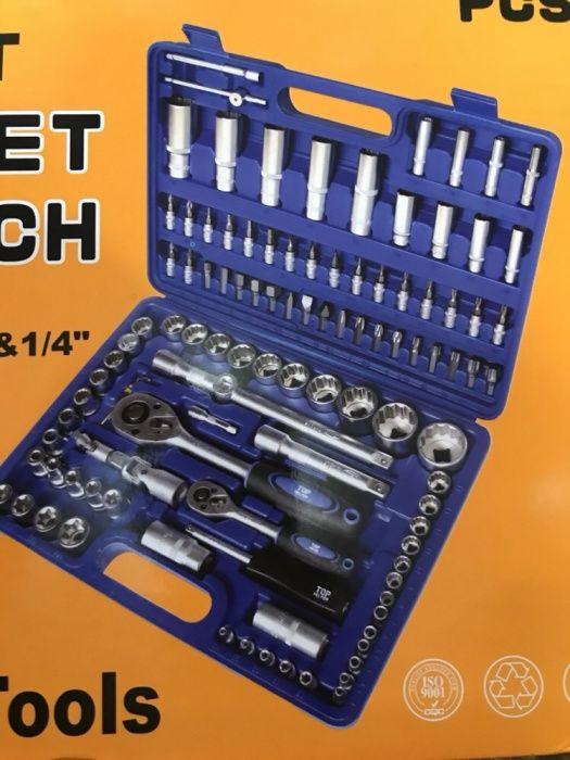 Trusa scule 108 piese profesional Tools Chrome Vanadium