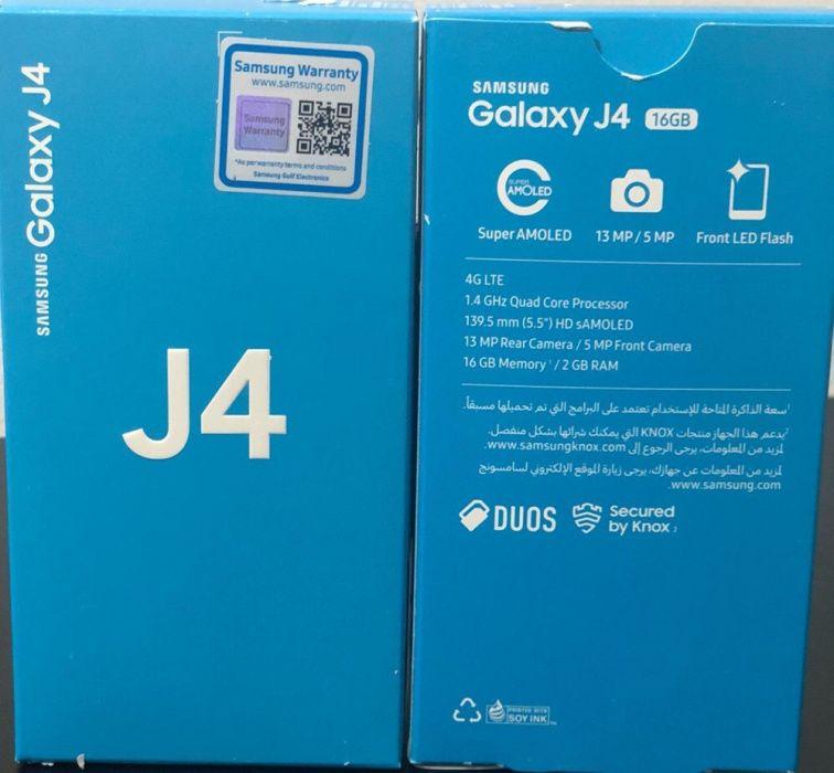 Samsung j4 duos 16gb memória
