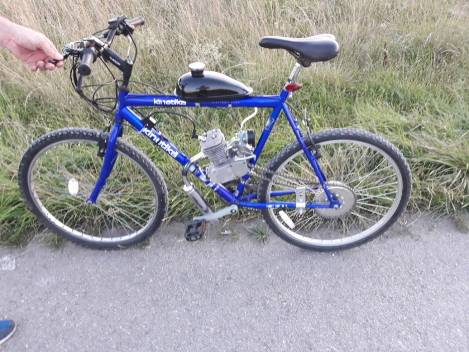 Монтирам бензинов двигател на ваш велосипед