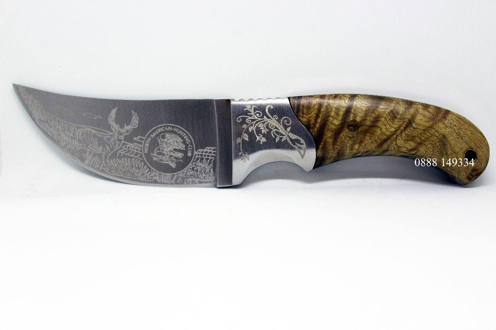 НОВ Чудесен ловен нож за дране, loven noj, ловджийски нож, ФУЛ ТАНГ