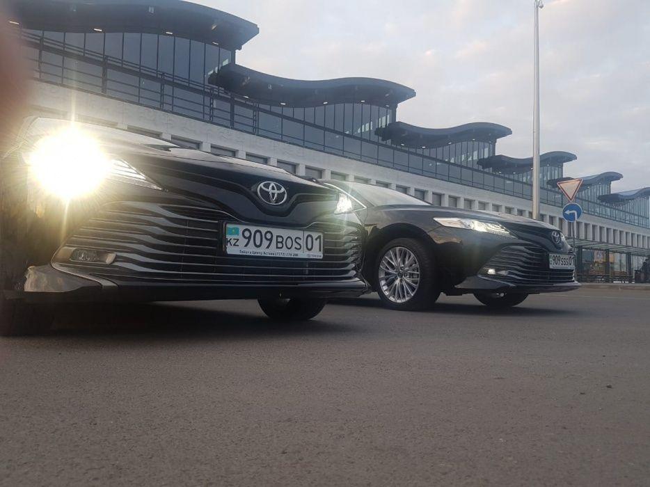 Аренда авто с водителем новые Тойота Камри 70