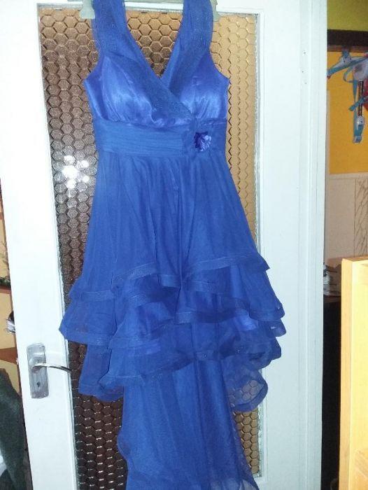 rochie eleganta cu trena!