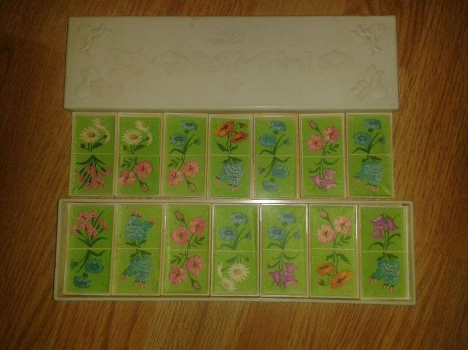 Joc domino vechi cu flori Vintigi
