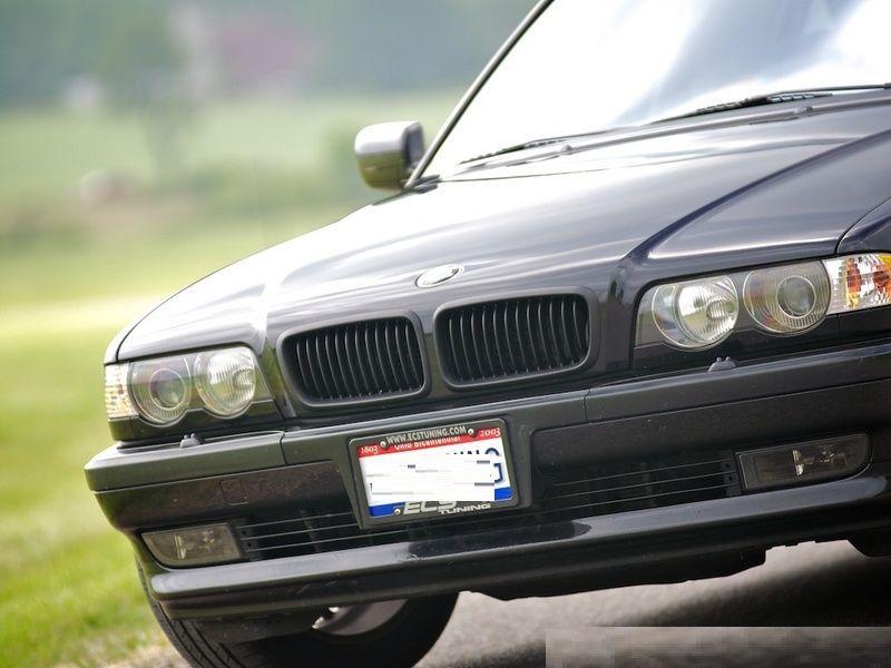 Grile BMW E38 94-02 - finisaj negru mat Timisoara - imagine 3
