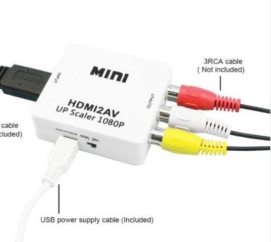 Convertor HDMI - RCA ( digital -analog) audio + video, NOU