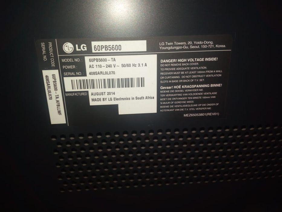 TV LG 60polegadas