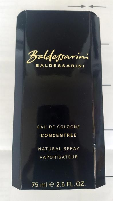 VAND parfum ORIGINAL Boss Baldessarini Concentree 75ml