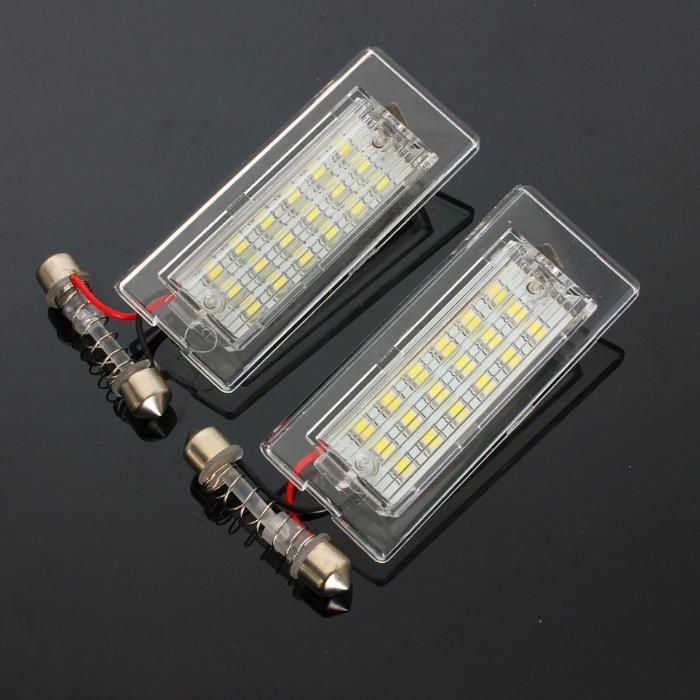 Set lampa led numar BMW X5 E53 , X3 E83