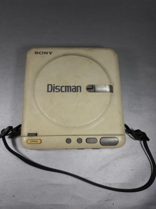 Discman Sony vintage colecție walkman oldtimer netestat