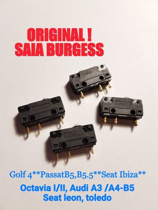 Switch usa / broasca VW Golf 4, Sharan/Audi A3, A4-B5/octavia OEM