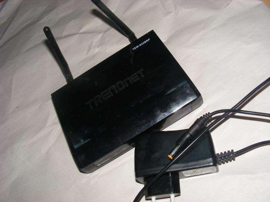 Vand router wireless TRENDnet TEW-652BRP,cu acumulator,perfect functio