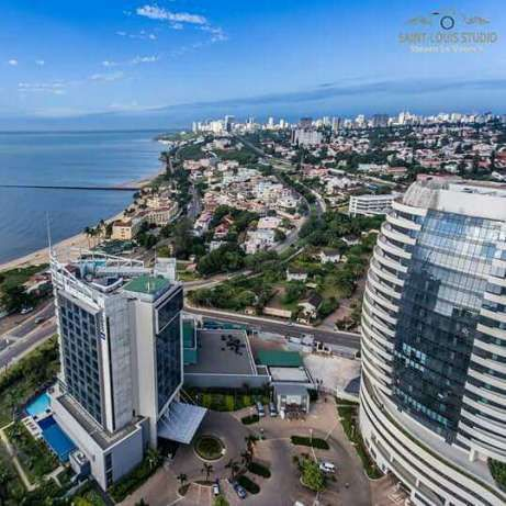 For sale Property of fenced land at the foot of the buildings of the R