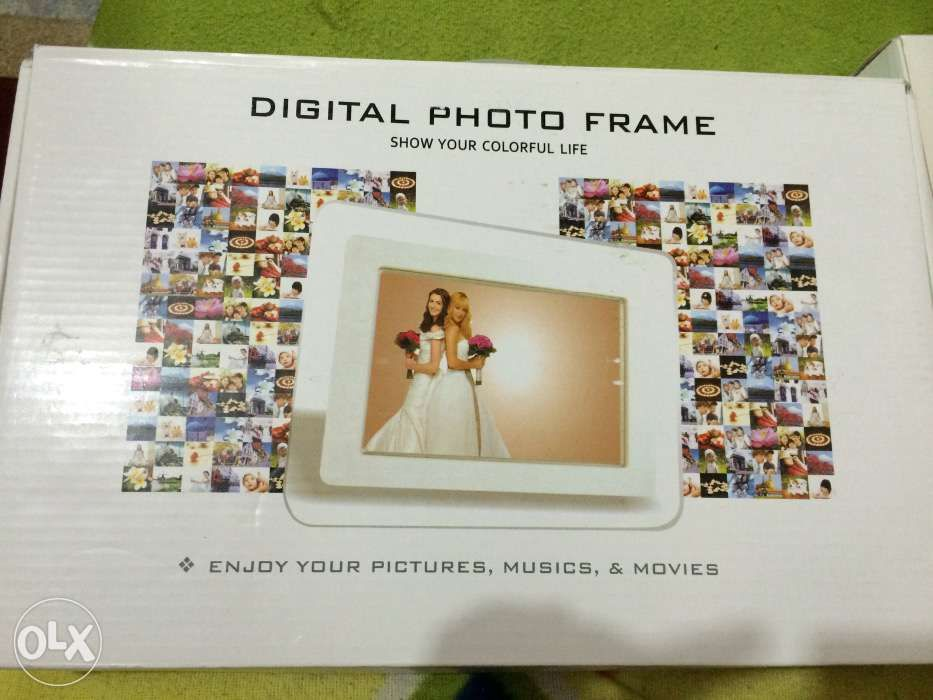Digital photo frame. Фотоальбом