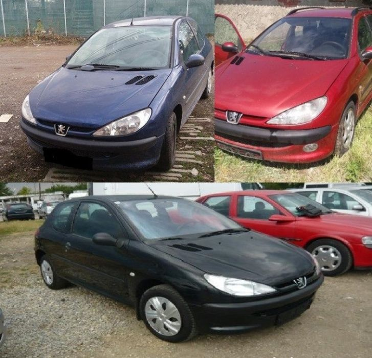 Portiera / Geamuri Peugeot 206 SW Coupe Hhatchback
