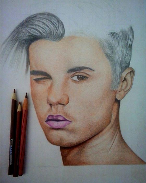 Desenho no papel (Retrato)