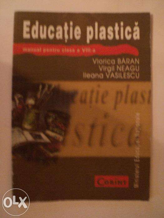Manual educatie plastica cls a VIII-a