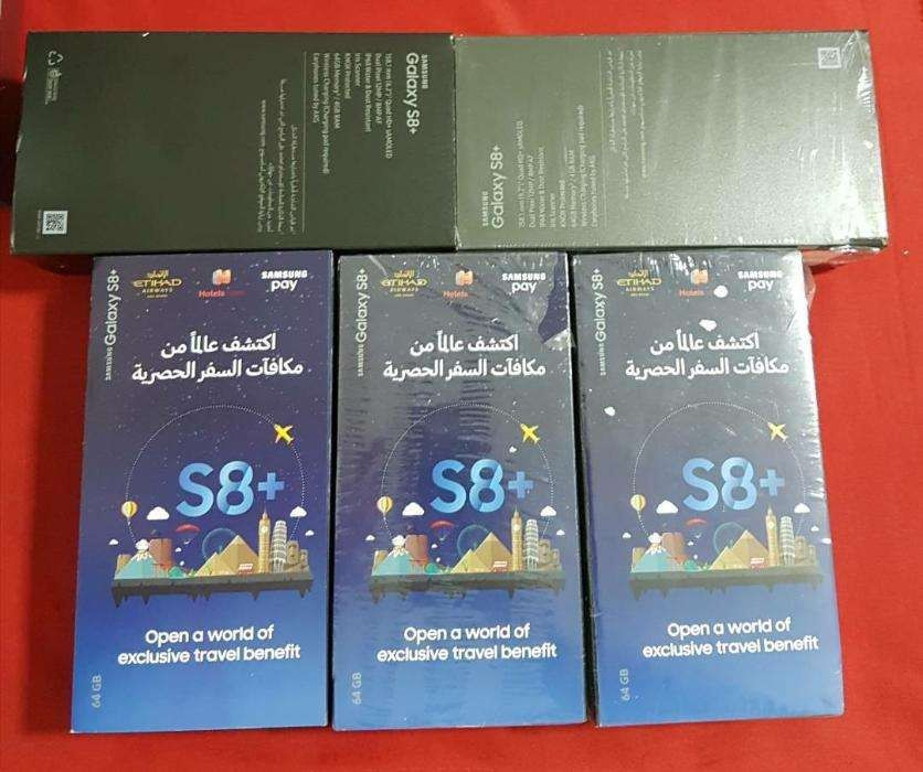 Samsung Galaxy S8 Plus Dual SIM 64Gb Sealed Available in colors