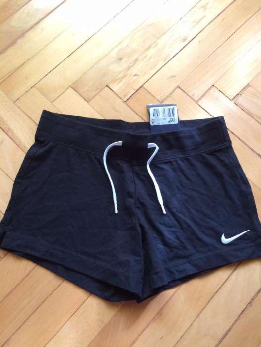 Nou! Sort Nike Original Dama bumbac