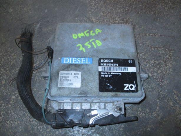 Calculator motor ECU Opel Omega 2,5 diesel TD TDS Original PROBAT