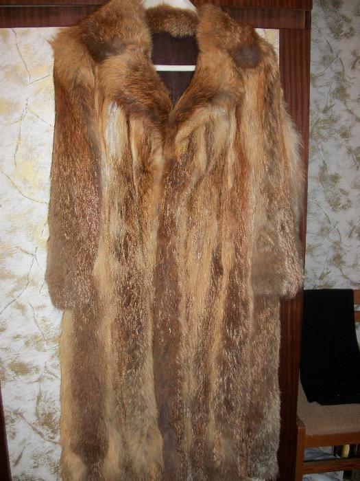Палто от лисица