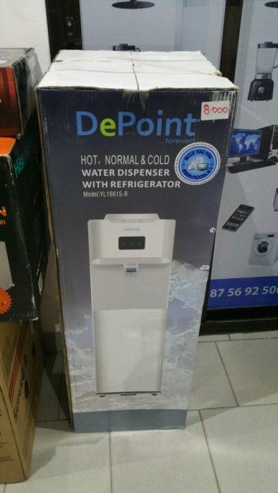 Dispensador de água com refrigerador depoint