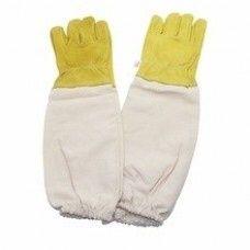Перчатки из овечьей кожи ! Пчёлы , перчатки , защита от пчёл ,варежки
