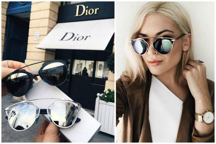 Разпродажба-50%Слънчеви очила (диор) Dior So Real UV 400 защита