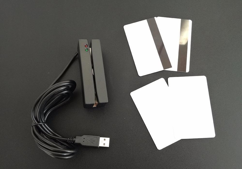 Cititor Carduri Magnetice USB (Magnetic Card Reader) Bucuresti - imagine 2