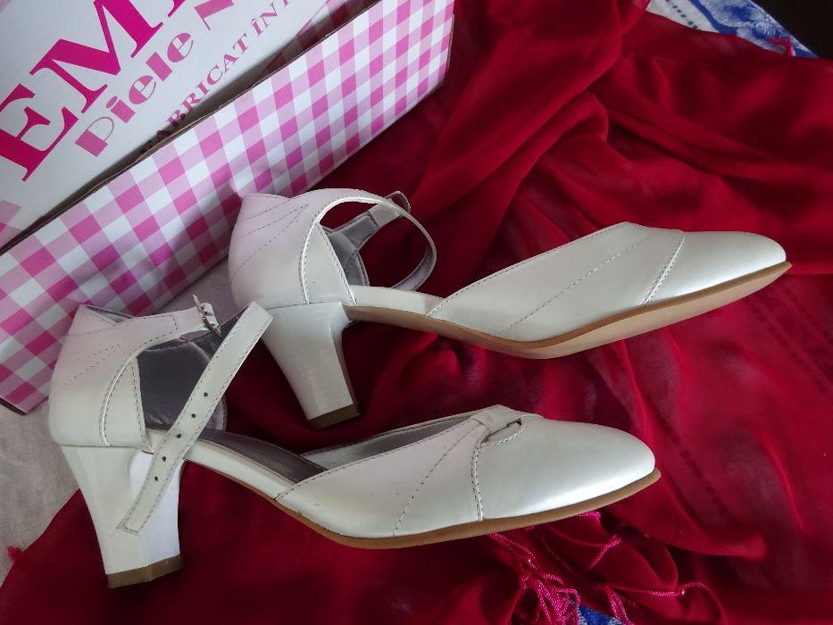 Pantofi mireasă - piele naturală Bucuresti - imagine 2