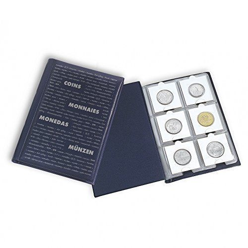 Джобен класьор Numis за 60 монети в картонени рамки 50x50mm
